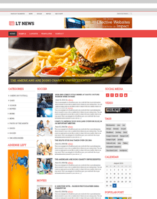 LT News – Free Responsive Magazines / News WordPress theme