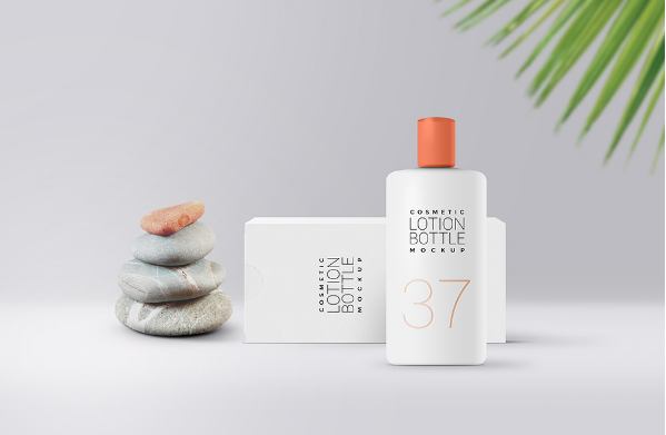 Cosmetic Bottle MockUp PSD Template