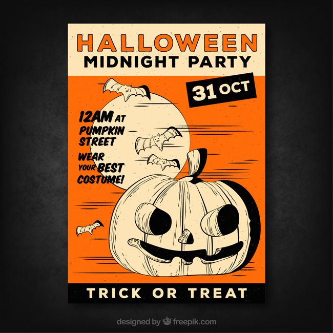 Free Halloween Posters & Banners