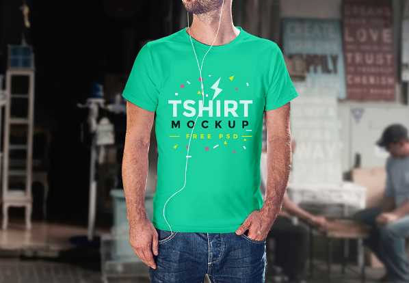 free t shirt psd mockup template responsive joomla and