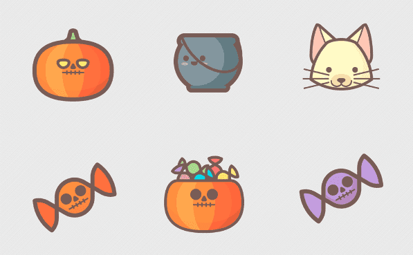 Halloween Icons Free Download