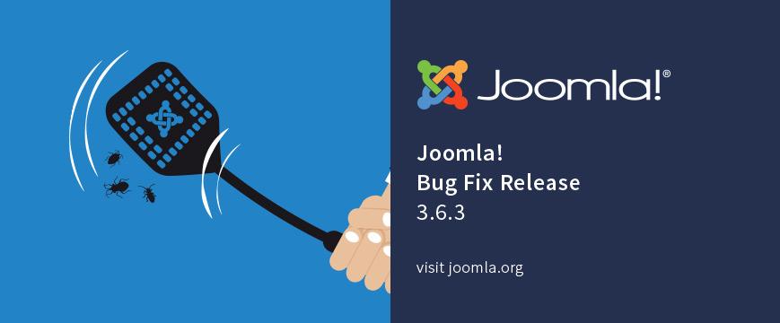 Joomla! 3.6.3 Released!