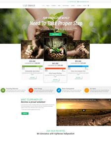 LT Envico – Free Responsive Environment / Nature Joomla Template