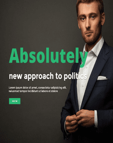 LT Resan – Free Joomla Political Website Template