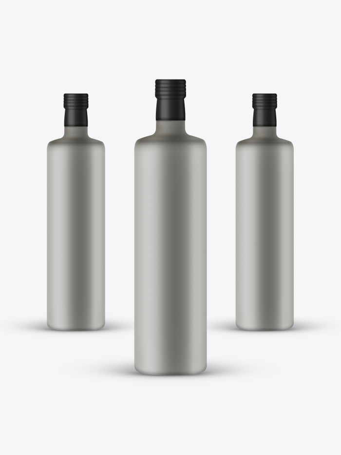 Free Ceramic Bottle Mockup Psd