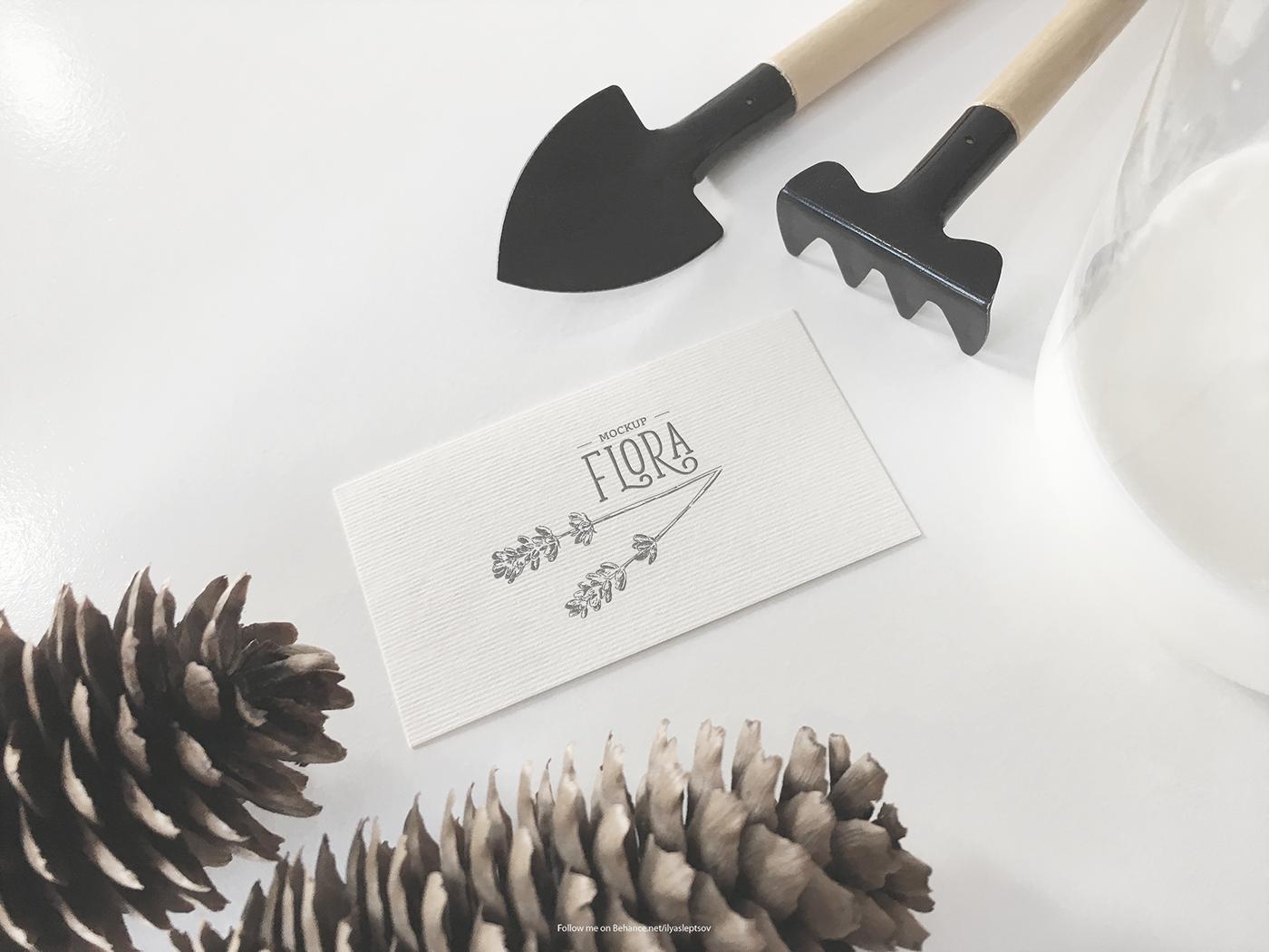 Free Invitation Card MockUp Template
