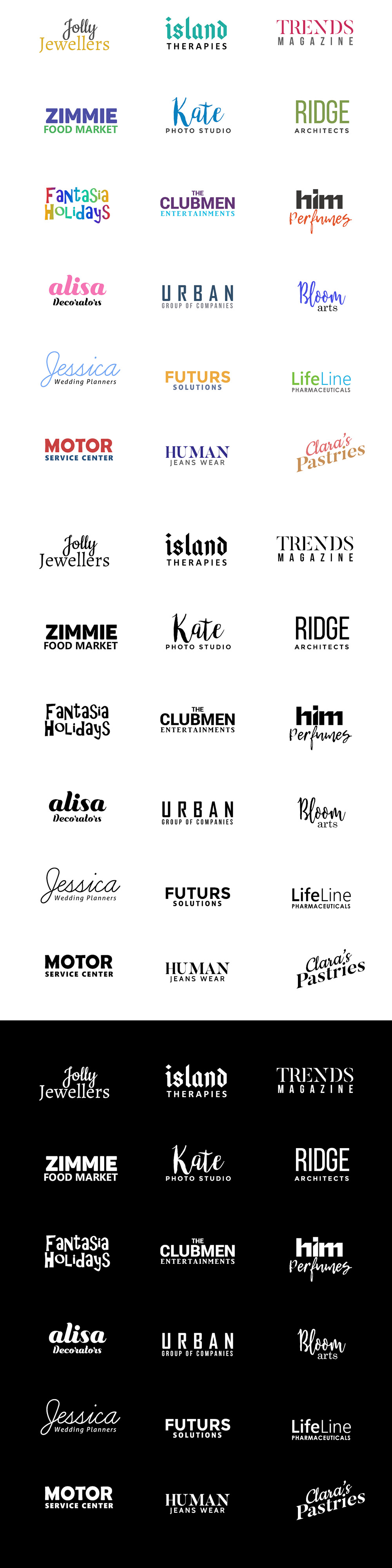 free-minimal-logo-templates