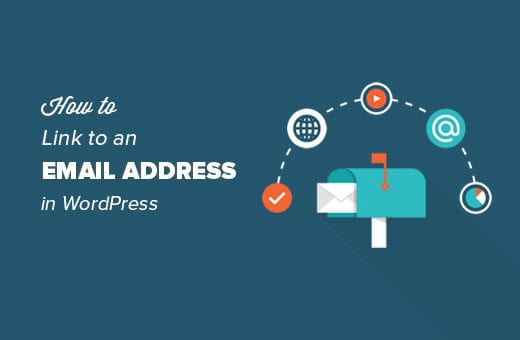 How To Link To An Email Address – WordPress Tutorial