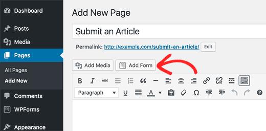 Add Form