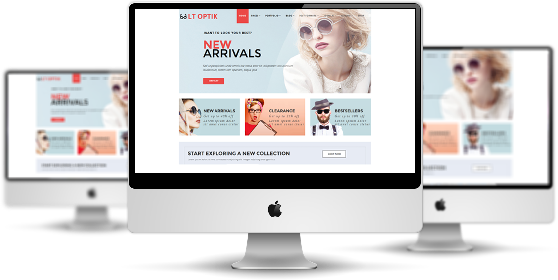 LT Optik Joomla Template
