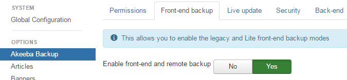 How To Automating Your Backup In Akeeba