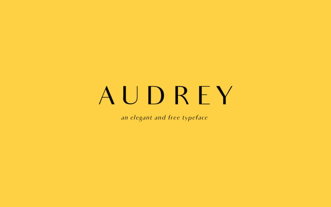 Audrey Free Font Download