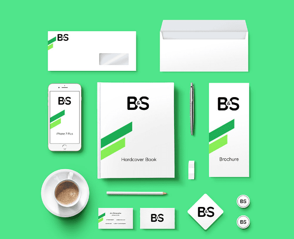 Branding & Stationery Free Mockup PSD Template