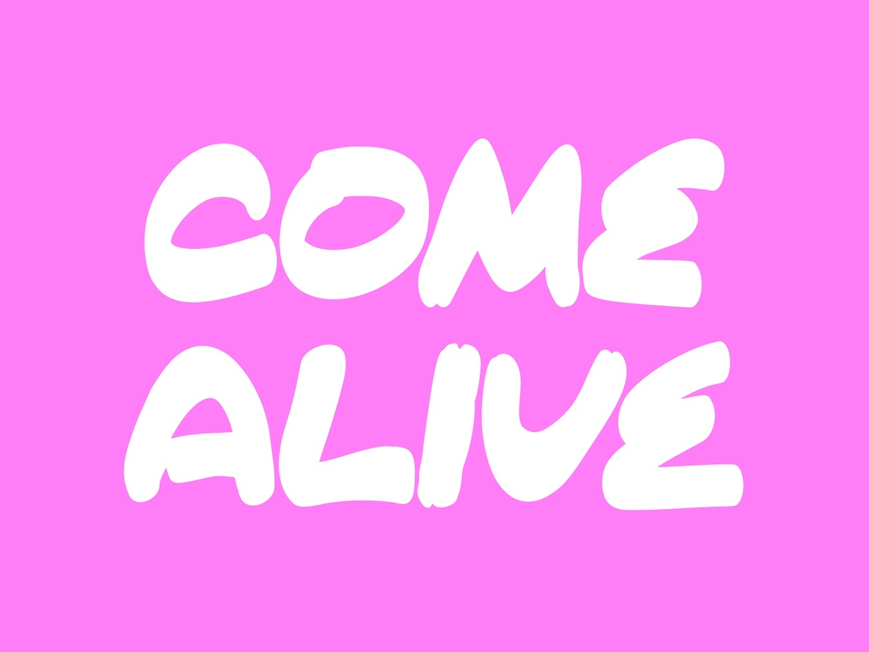 Come Alive Free Font Download - LTHEME
