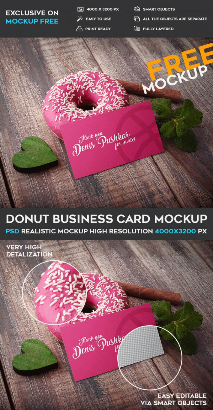 Donut free business card psd mockup template responsive joomla and donut free business card psd mockup template reheart Choice Image