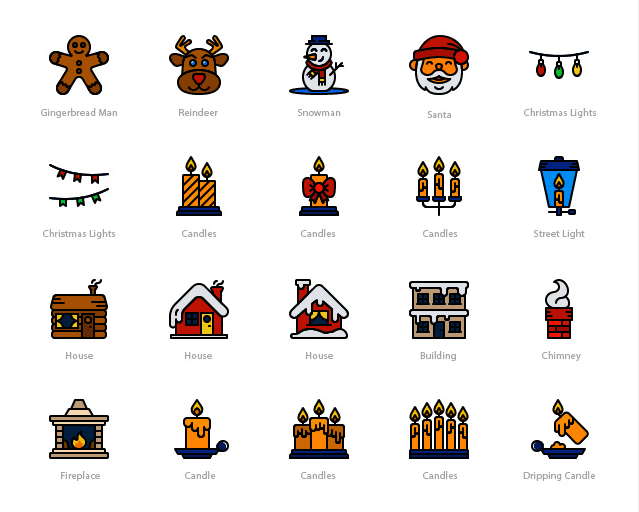 Smashicons: 100 Winter Free Icons Download