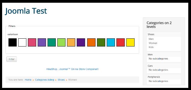 display color