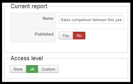 edit reports