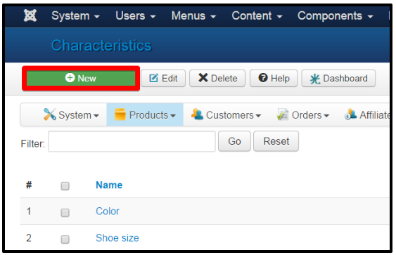 configure products details page