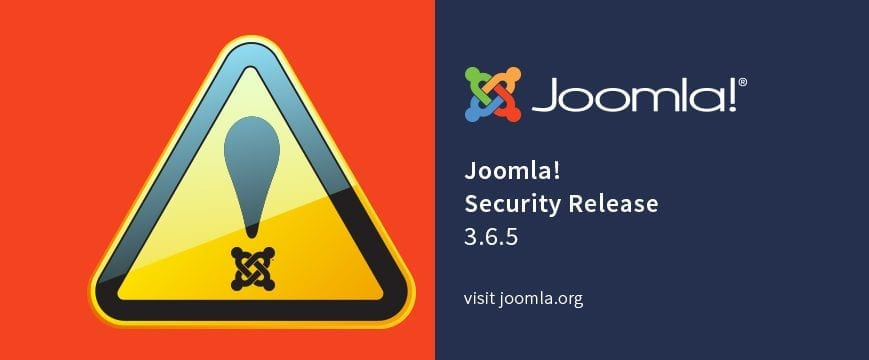 Joomla! 3.6.5 Released! Important Security Issues Fixed