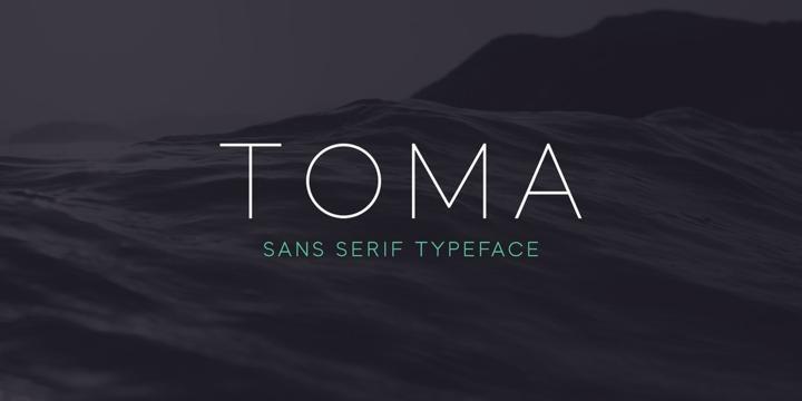 Toma Sans Family Free Font