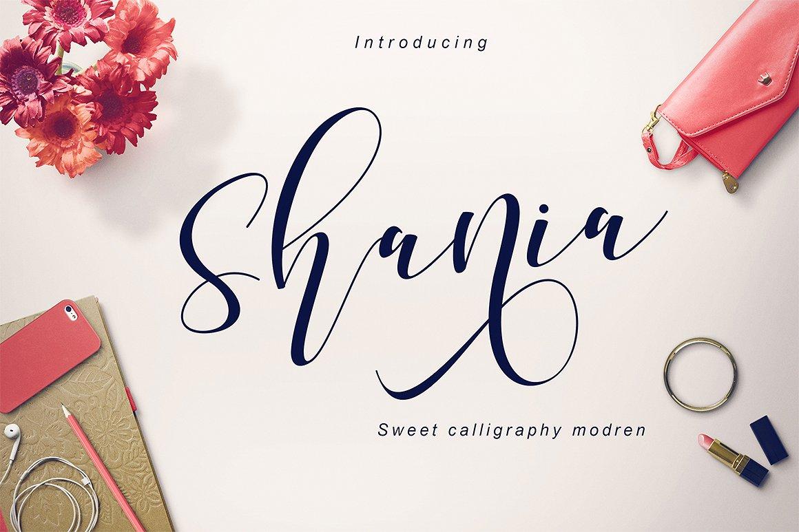 Shania Script Free Font Responsive Joomla And Wordpress