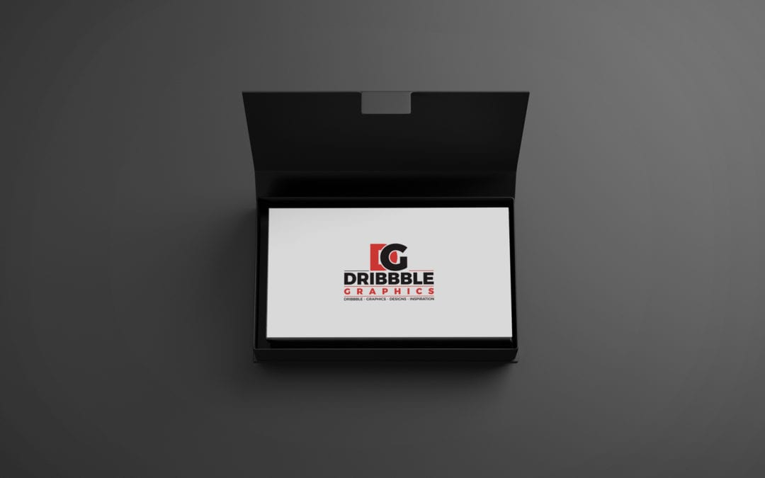 Executive Free Business Card MockUp
