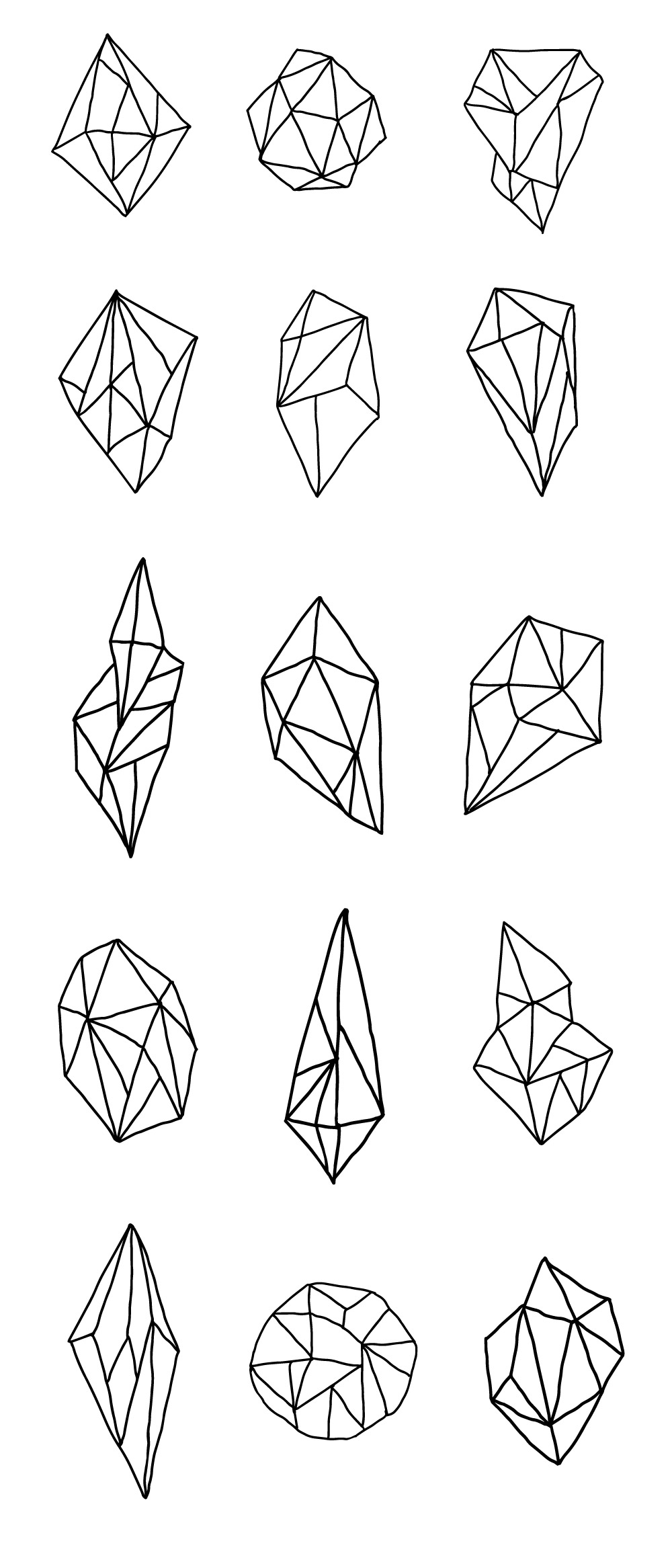 Free Vector Geometric Polygons