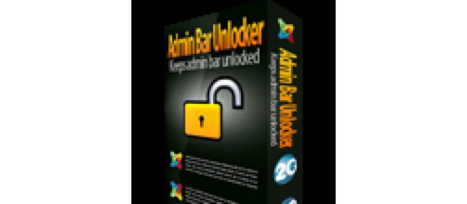 Admin Bar Unlocker
