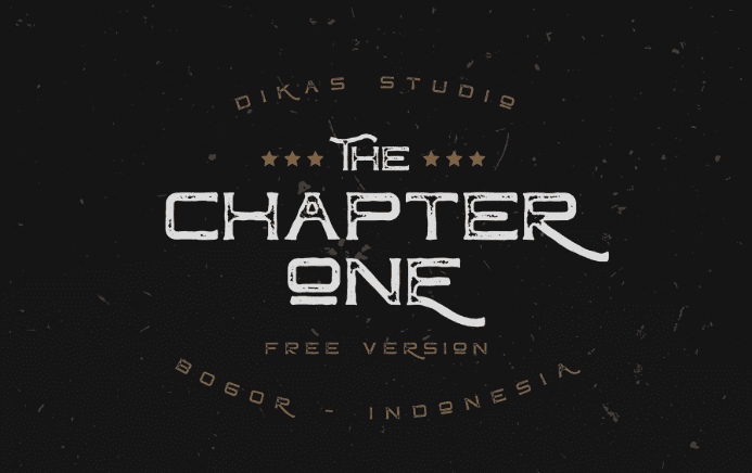 ChapterOne Display Font Free Download