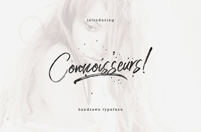 Connoisseurs Free Handwriting Typeface