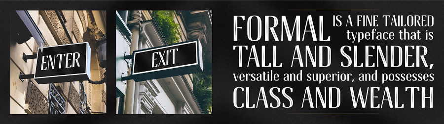 Formal Inline Free Font Download