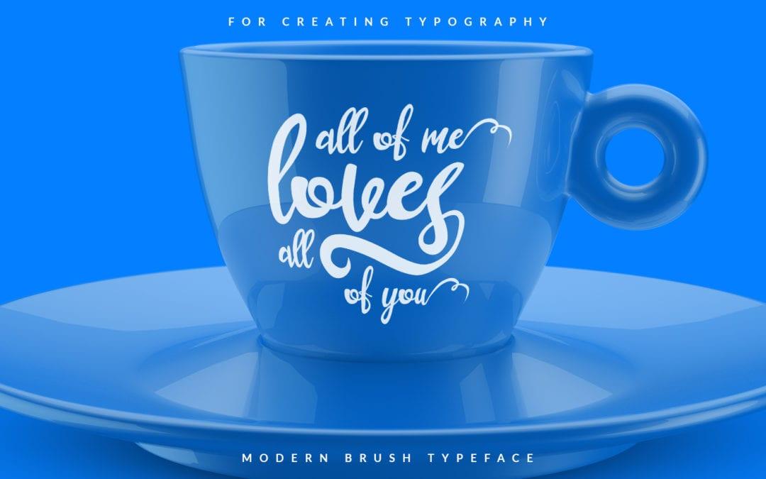 Lustinmal Script Typeface