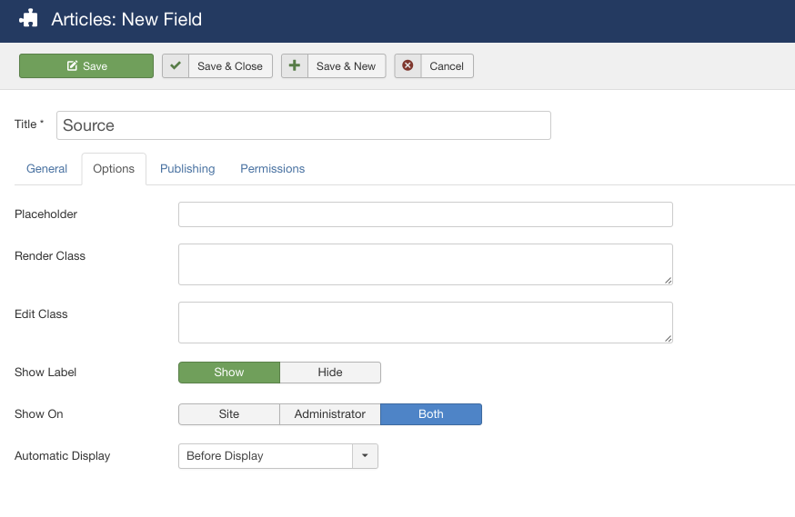 how to add an article to joomla via ftp