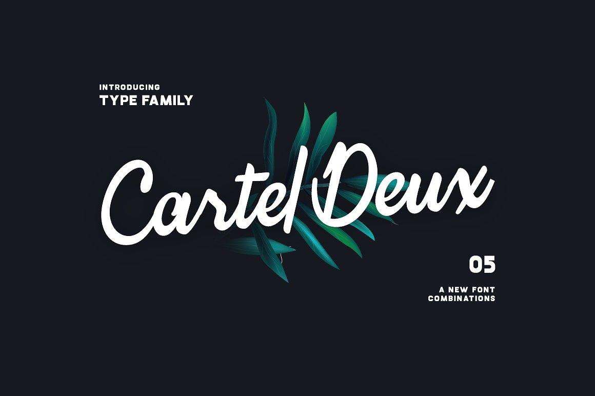 Cartel Deux Script Free Font