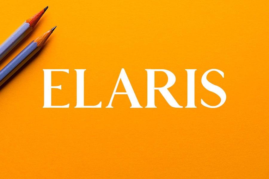 Elaris – Free Serif Font