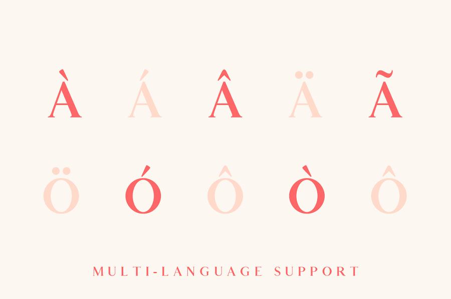 Elaris - Free Serif Font