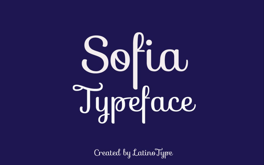 Sofia – Free Script Typeface
