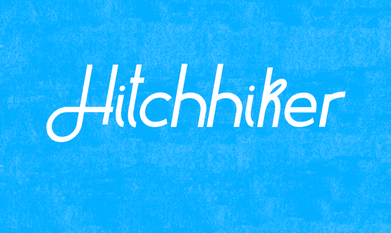 Hitchhiker Handwriting Style Fonts
