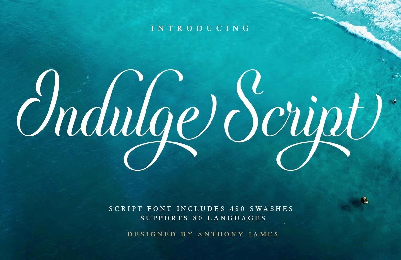 Indulge Handwritten Sscript Font