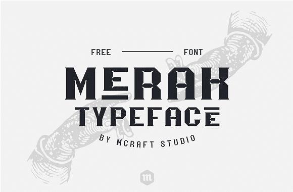 Merak Free Font Family