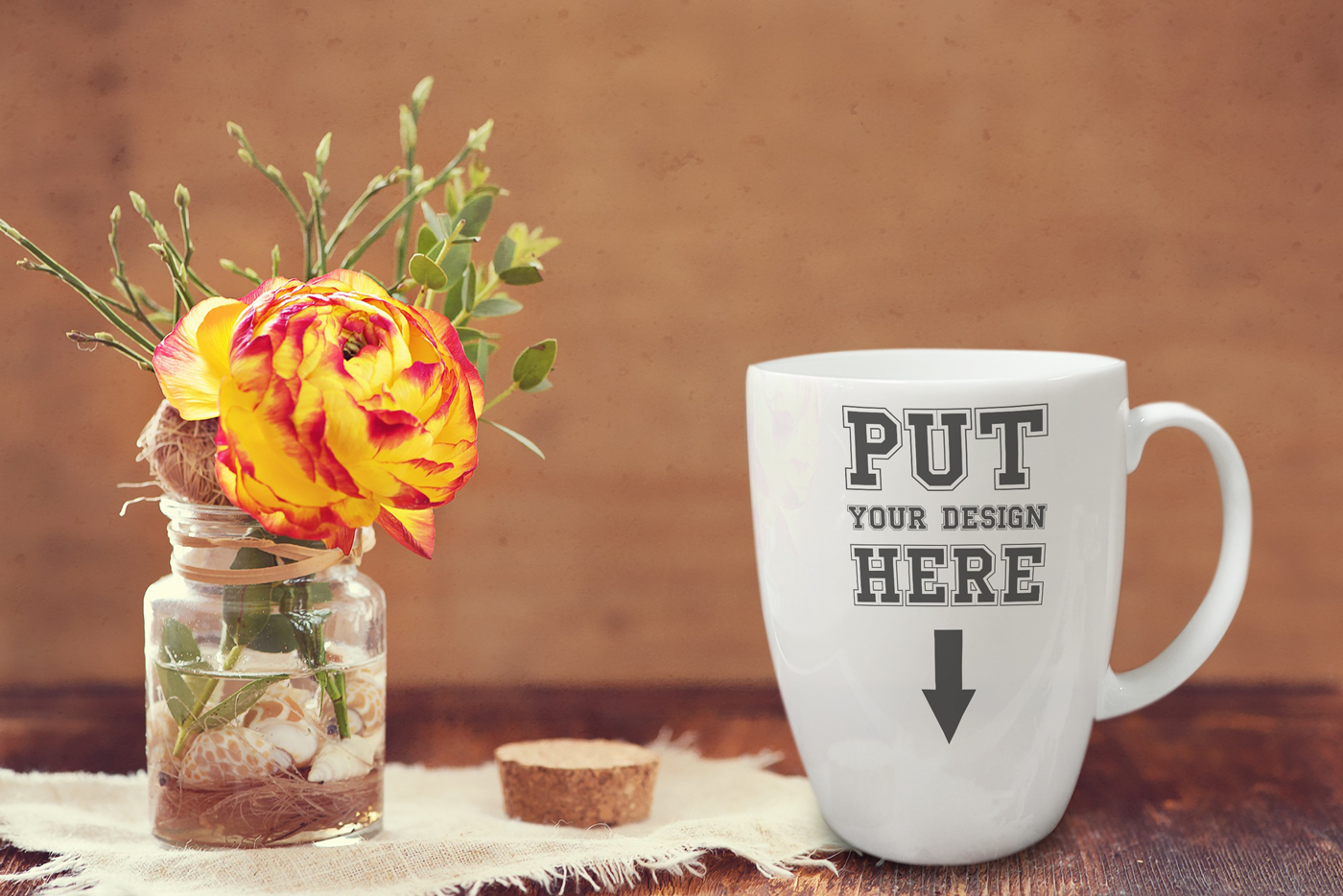 Set Of High Resolution Coffee Cup PSD Mockup Templates