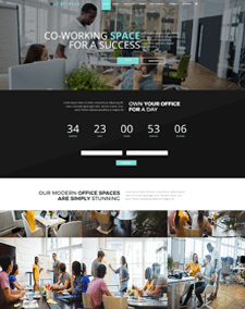 LT Bespace – Free Responsive Conference Space Rentals or Coworking Spaces Joomla template