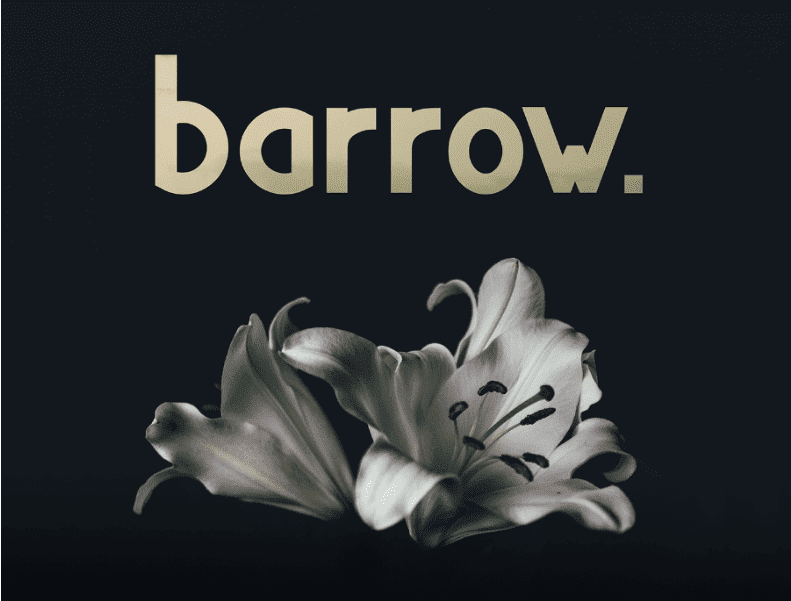 Barrow Free Display Typeface