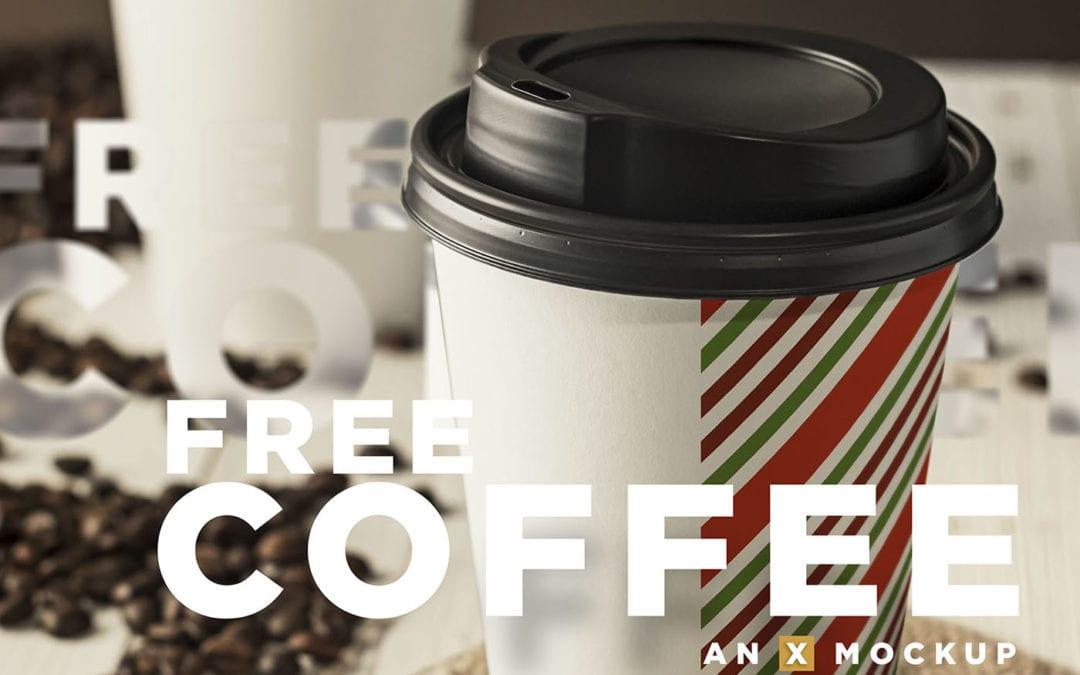 Coffee Cup Branding PSD MockUp