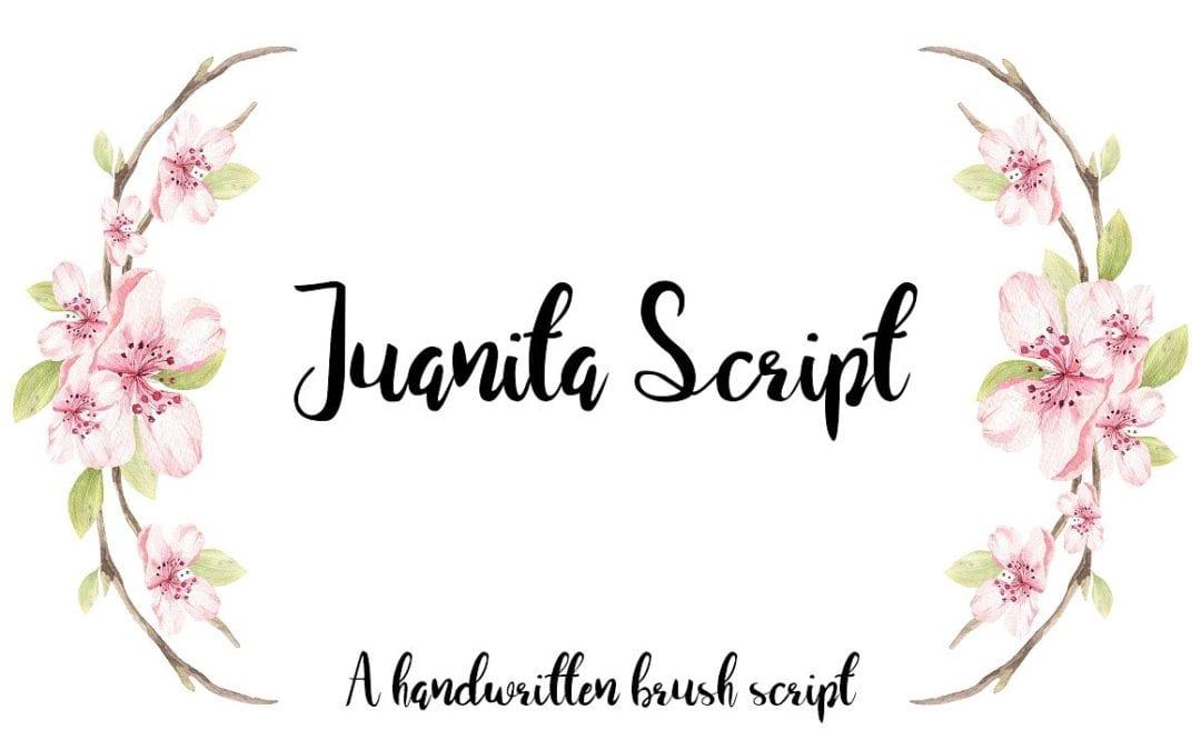 Juanita Free Brush Script Font