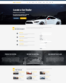 LT Carmarket – Free business joomla template
