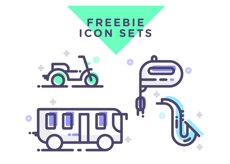 Assorted Free Vector Icons