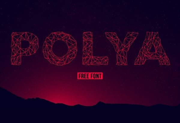 POLYA Free Display Typeface
