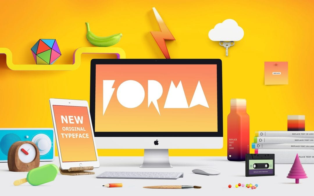 Forma Display Typeface